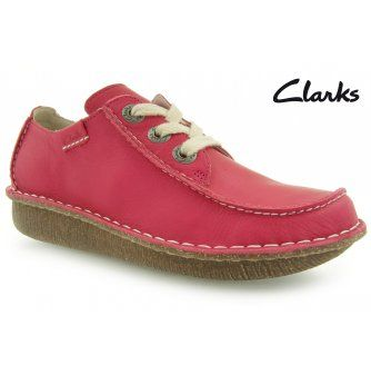 CLARKS FUNNY DREAM FUCHSIA LEATHER | Casual | Women shoes in…