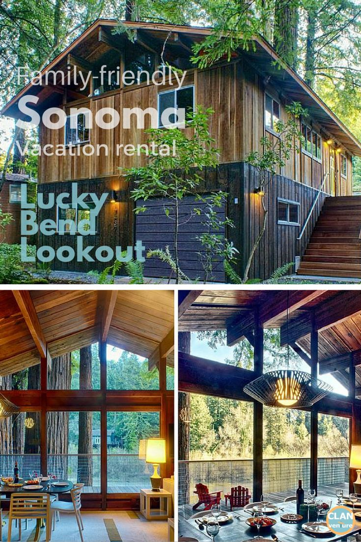 Retreat to this gorgeous, kid-friendly mid-century modern cabin, set in