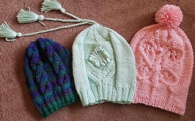Zręczne ręce: Zaplecione czapeczki