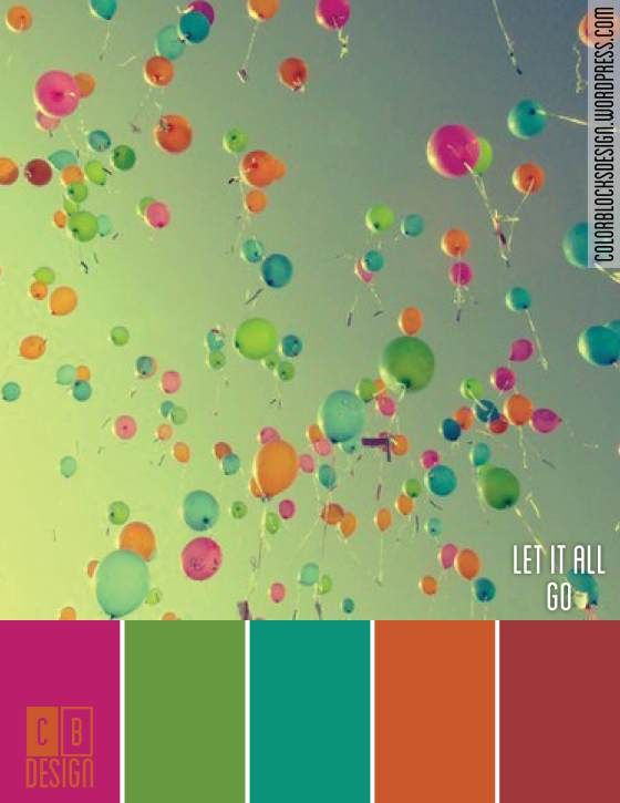 Let it All Go | Color Blocks Design