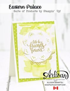 Eastern Palace, Stampin up