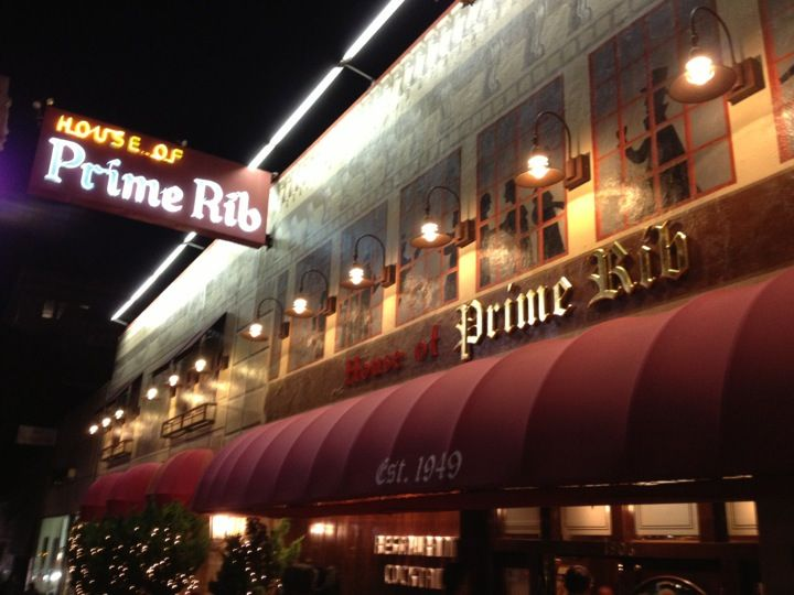House of Prime Rib is a San Francisco icon serving up generous (and delicious) portions with a side of nostalgia.  READ MORE: http://www.49miles.com/2016/house-of-prime-rib-generous-portions-nostalgia/