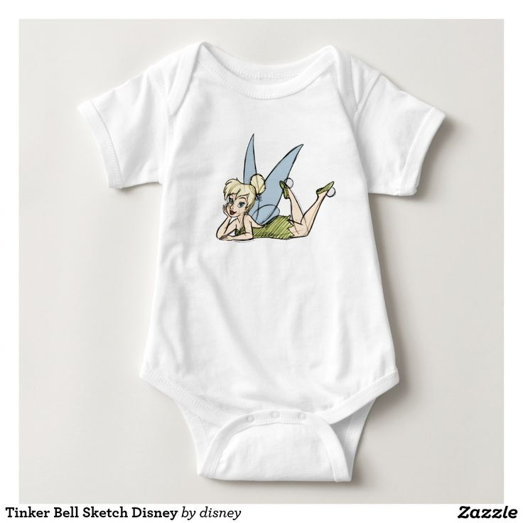 Tinker Bell Sketch Disney Baby Bodysuit