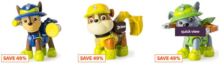 Indigo Canada Online Offers: Save 49% on Paw Patrol Action Figures now for $5.00 each Today http://www.lavahotdeals.com/ca/cheap/indigo-canada-online-offers-save-49-paw-patrol/237338?utm_source=pinterest&utm_medium=rss&utm_campaign=at_lavahotdeals&utm_term=hottest_12