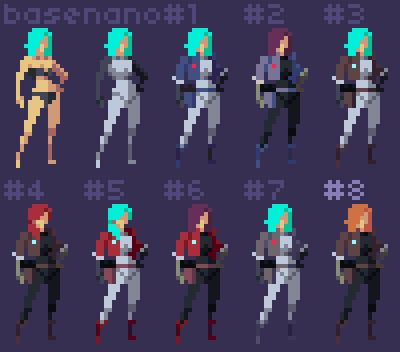 #Pixel art, (un)dressed to kill