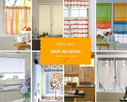 idee su Tende Da Cucina su Pinterest  Trattamenti di finestra cucina ...