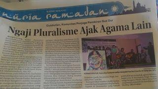 Gusdurian, Komunitas Penjaga Pemikiran Gus Dur ~ GUSDURian Malang