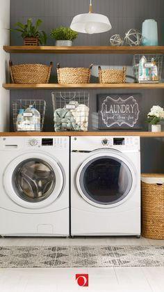 27 Ideen für die Wäscherei, um Ihren kleinen Raum zu maximieren
