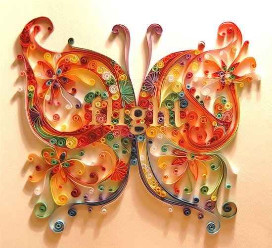 #paper #artworkPaper Quilling, Quilling Design, Paper Artwork, Quilling Pattern, Paperart, Quilling Art, Paper Strips, Crafts, Paper Butterflies