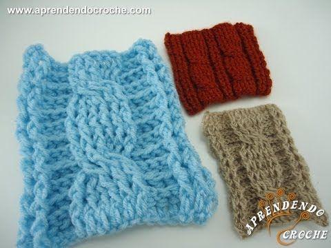 Você pensava que trança só se fazia no tricô, não é mesmo? Pois no crochê também pode-se fazer, assista nossa vídeo aula e aprenda! Acesse nosso site e assis...