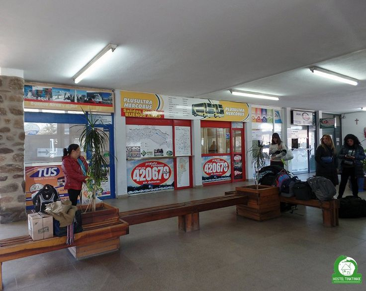 La Terminal de Omnibus en Santa Rosa de Calamuchita