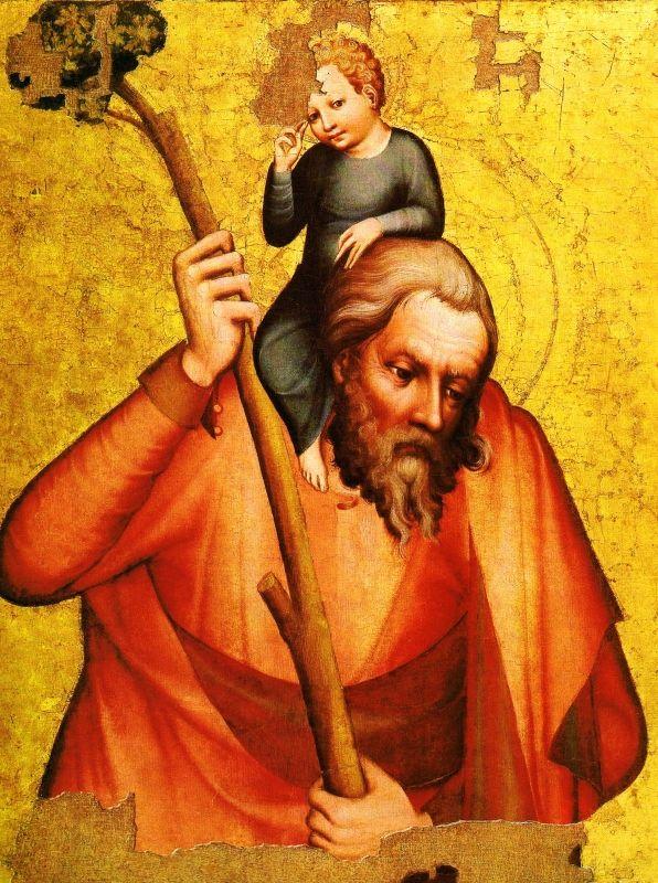Svatý Kryštof (kol. roku 1380)