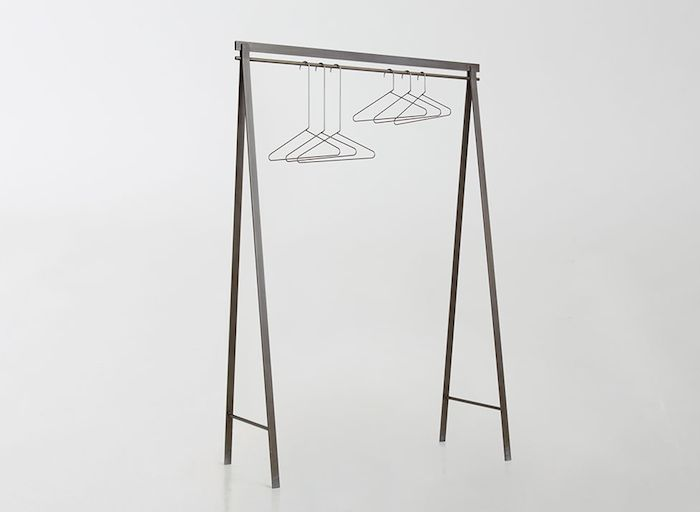 Painted Cold Rolled Steel Garment Rack from March | Remodelista