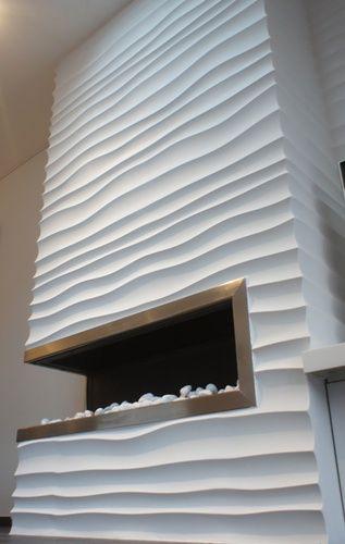 Fireplace & decorative panels