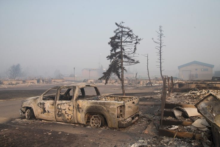 Fort McMurray Alberta Fire