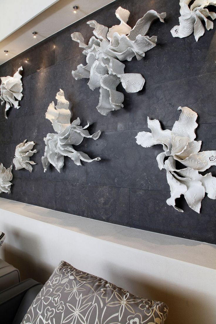 Alice-Riehl-Algues-porcelain-wall-art-Intercontinental-Hotel-Marseille