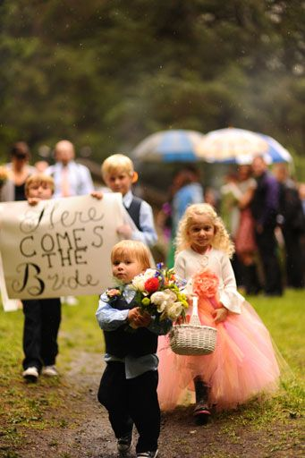 multiple kiddies/dogs can be the flower girls/ring bearers - dont have to only have one of each