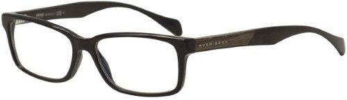 HUGO BOSS Men's Eyeglasses 0914 1YS Black Full Rim Optical Frame 55mm