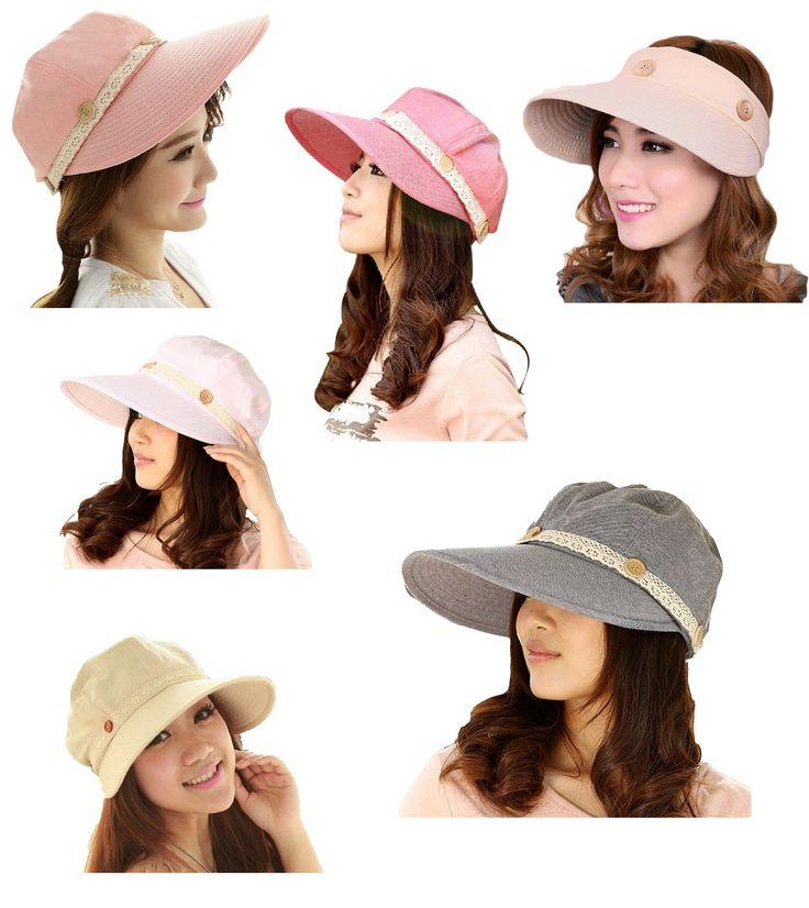 【送料無料】UVカット 帽子 対策 帽子 ガーデニング 農作業。UVは女性の敵! サン バイザー にもなる! レース 付 つば広 帽子 2way 日除け ハット cosmic uv-1