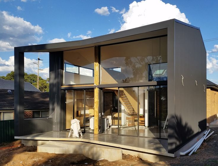 Binary House / Christopher Polly Architect / Stage 2 New Addition - Exterior progress