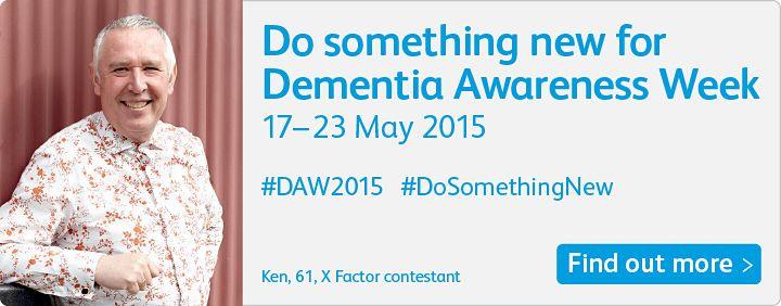 Dementia Awareness Week Raising awareness and raising funds!