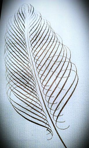 Ejercicio de calentamiento. Calligraphy. Caligrafía. Esther Gordo.