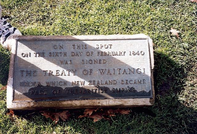 New Zealand - Treaty of Waitangi