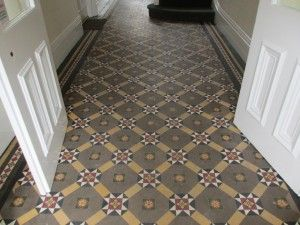 Victorian Floor before cleaining in Richmond