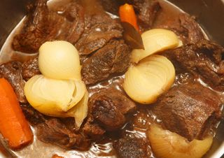 Daube Niçoise (bœuf et vin rouge) au Cooking Chef