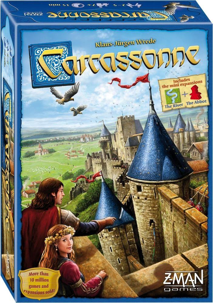 Z-man Games - Carcassonne Board Game - Multi