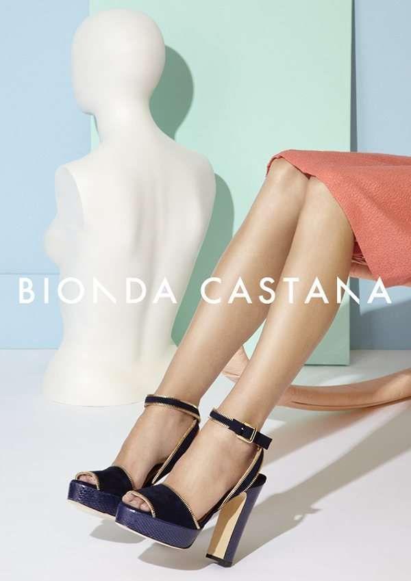 Pop Art Stiletto Ads : Bionda Castana Spring 2012