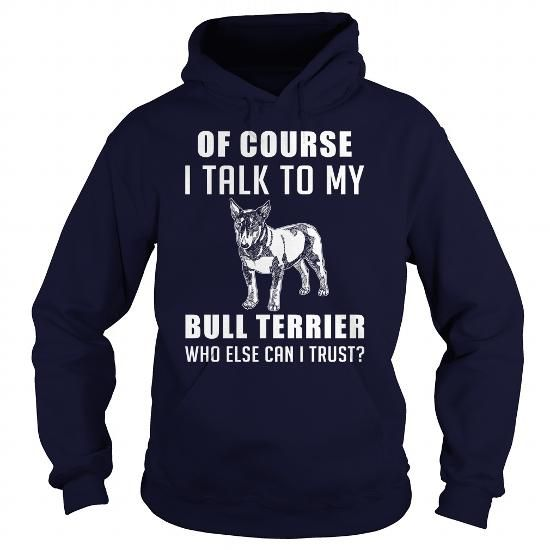 Personalized Name Bull Terrier Dog T-Shirts