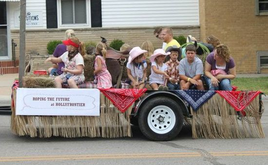 western parade float theme ideas | Parade presented by ParFab