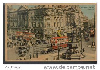 London 1954´-piccadilly Circus-Send to Jordan Minister-Edmonb bey Roch- - Delcampe.net
