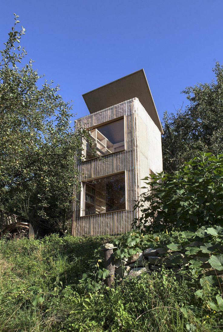 A Reading Retreat Like No Other: Garden Library by Mjölk architekti
