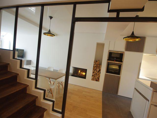 Chargés de rendre plus fonctionnel le rez-de-chaussée d'une maison de ville située en région parisienne, Thomas Huchet et Laila Nady ont choisi de le décloisonner intégralement et d'y installer ... #maisonAPart