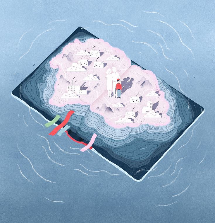 Nautilus Magazine Illustration by Garcia Lam