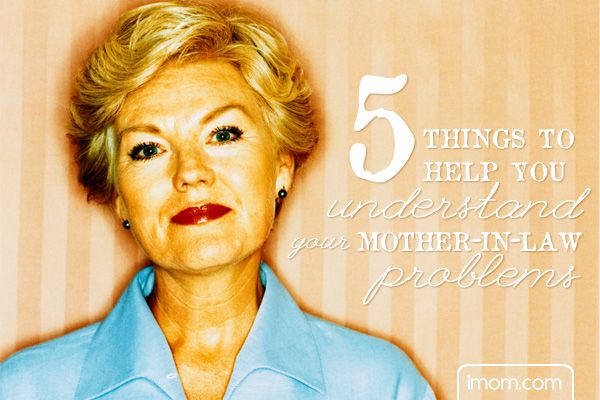 Do you have mother-in-law problems? Look over these 5 things to help you understand your mother-in-law problems.#marriage #inlaws