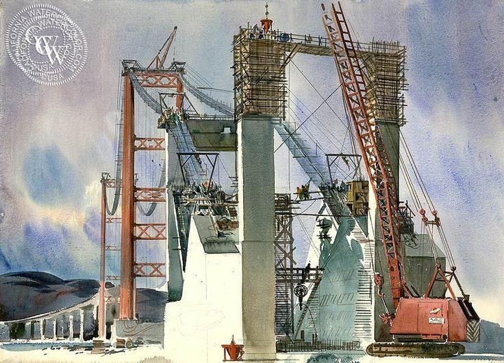 The Crane (Vincent Thomas Bridge)