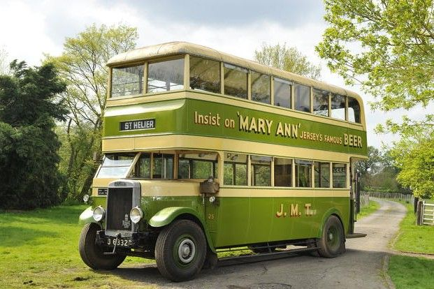 1932 Leyland Titan TD2 Double deck Bus 7.6 Liter Straight six.This one has a 8.8 Ltr. Leyland Truck engine fitted. Jersey JMT.