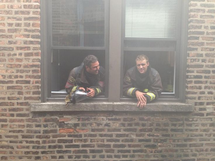 Casey and Severide. #ChicagoFire