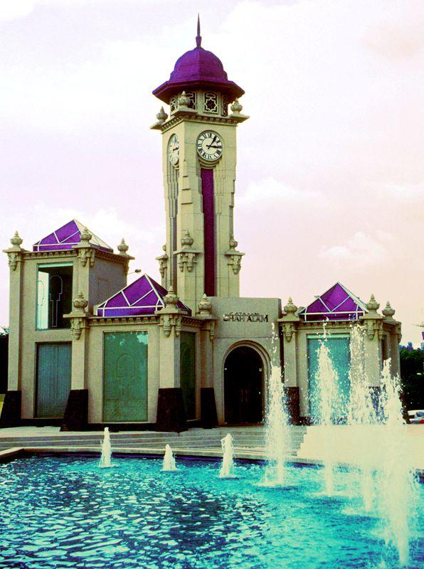 Clock Tower, Dataran Shah Alam, Malaysia