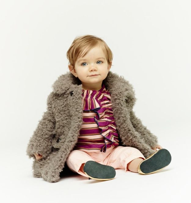 Little Marc Jacobs fall 13, cute shaggy coats for babies too