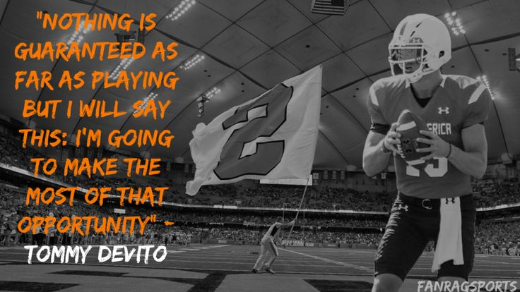 Tommy DeVito will play for Syracuse, but when?  =In what seemed like a scripted, cliche answer, it was evident that Tommy DeVito's humility was butting heads with his confidence as…..