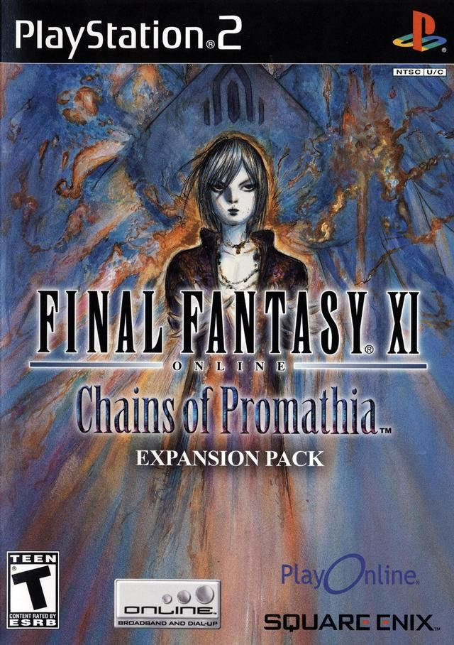 Final Fantasy XI Chains of Promathia Sony Playstation 2 Game