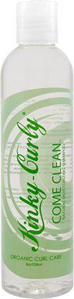 Kinky-Curly Come Clean Moisturizing Shampoo - NaturallyCurly