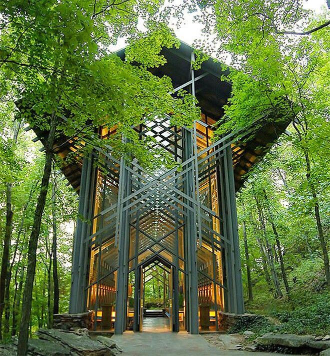 The Thorncrown Chapel Eureka Springs, Arkansas. Gorgeous ...