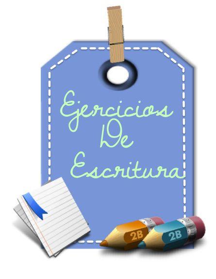 Ejercicios de Escritura | Ideas Para la Clase.com