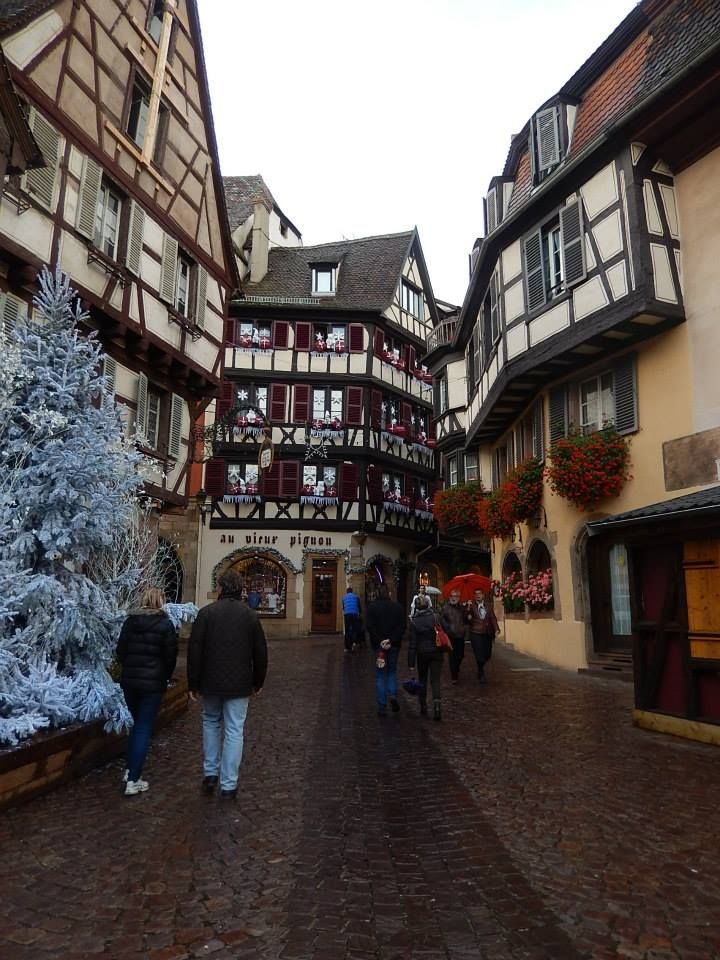 Morning in Breisach, Germany, and an afternoon in Colmar, France - after arriving in Basel, Switzerland for our Viking River Cruise