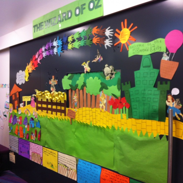 Classroom Decor High School ~ Best images about wizard of oz classroom theme on
